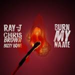 Ray J & Chris Brown - Burn My Name (feat. Bizzy Bone) - Single Cover