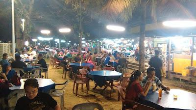Makan Best Anjung Senja Kota Kinabalu Sabah - Anjung Selera Likas