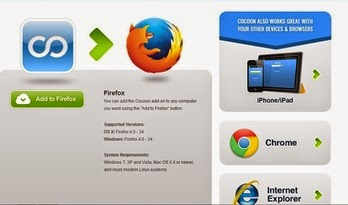 cocoon add on for firefox