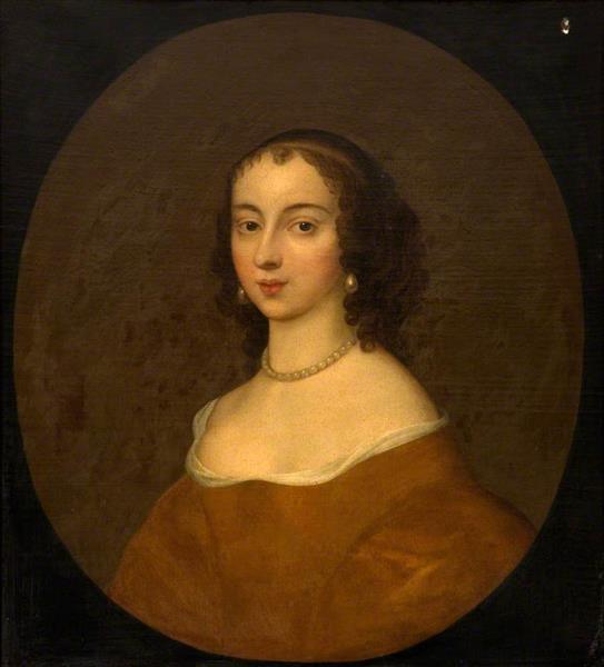 Mary Beale Анна Мария, графиня Шрусбери