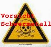 Giftige Schwermetalle