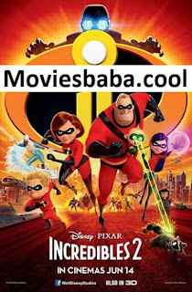 Incredibles 2 (2018) Full Movie Dual Audio Hindi HDRip 1080p | 720p | 480p | 300Mb | 700Mb | ESUB | {English+Hindi}