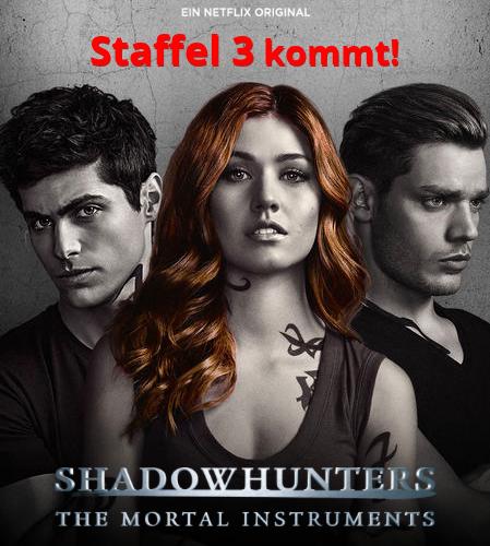 Shadowhunters Staffel