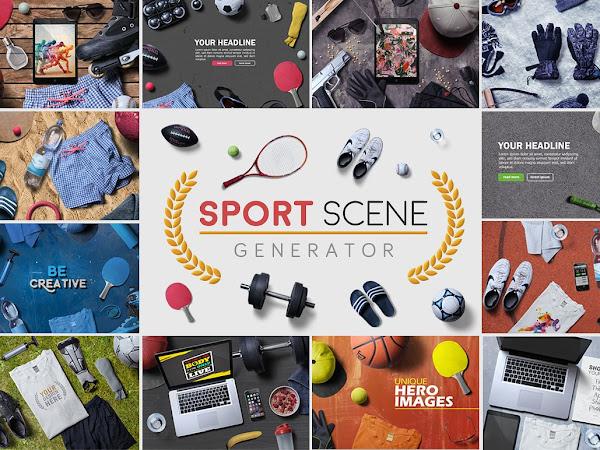 Download Sport Scene Generator Free