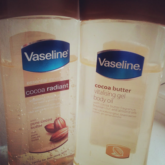 Vaseline cocoa body oil coconut body products