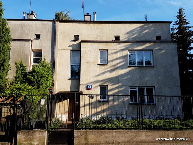 Warszawa Warsaw Wola Koło architektura Bank Gospodarstwa Krajowego wystawa 1935