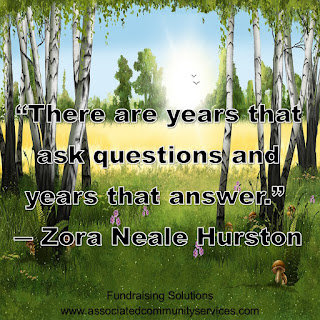 Image: Quote - There are years that ask questions and years that answer