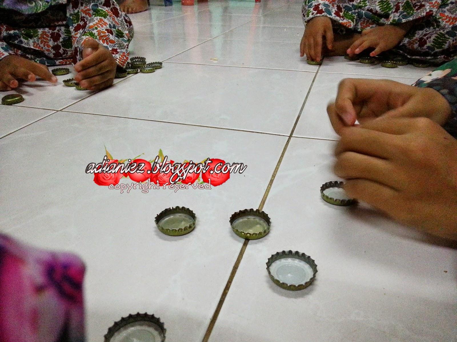 Permainan Tutup Botol @ Ceper | Mengimbau kenangan zaman kanak-kanak