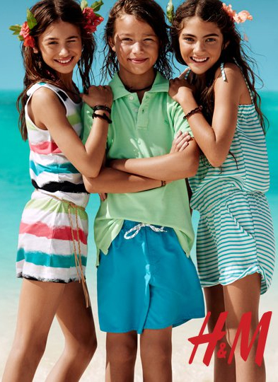 moda infantil H&M