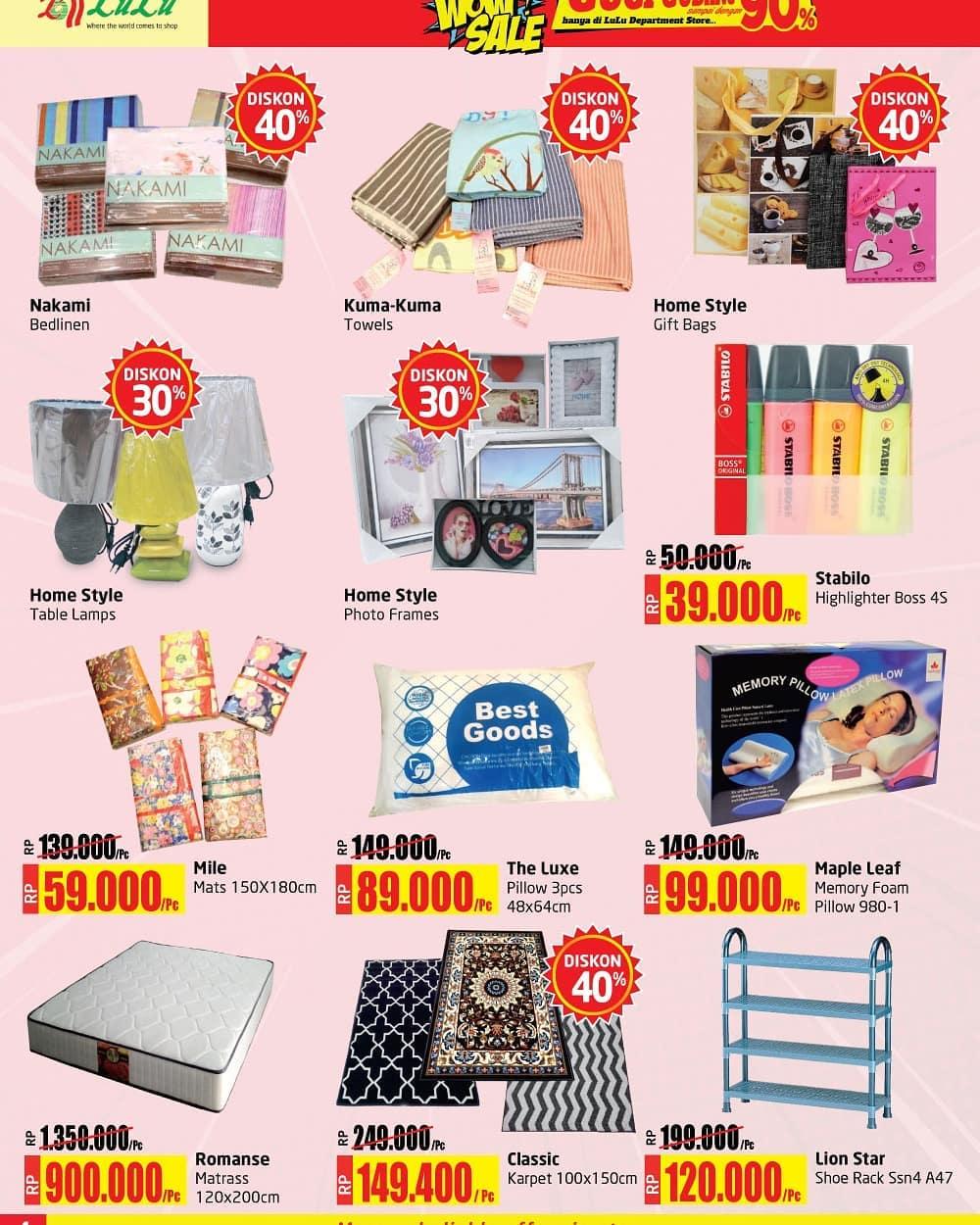 #LuluStore - #Pomo #Katalog Diskon Super WOW Periode 06 - 20 Maret 2019