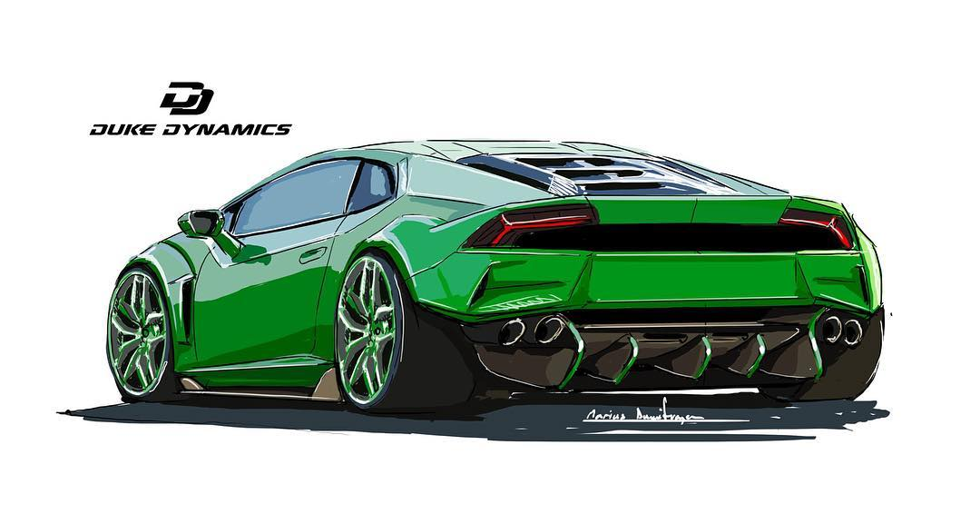 duke dynamics offer limited carbon wide body kit for lamborghini huracan. Black Bedroom Furniture Sets. Home Design Ideas
