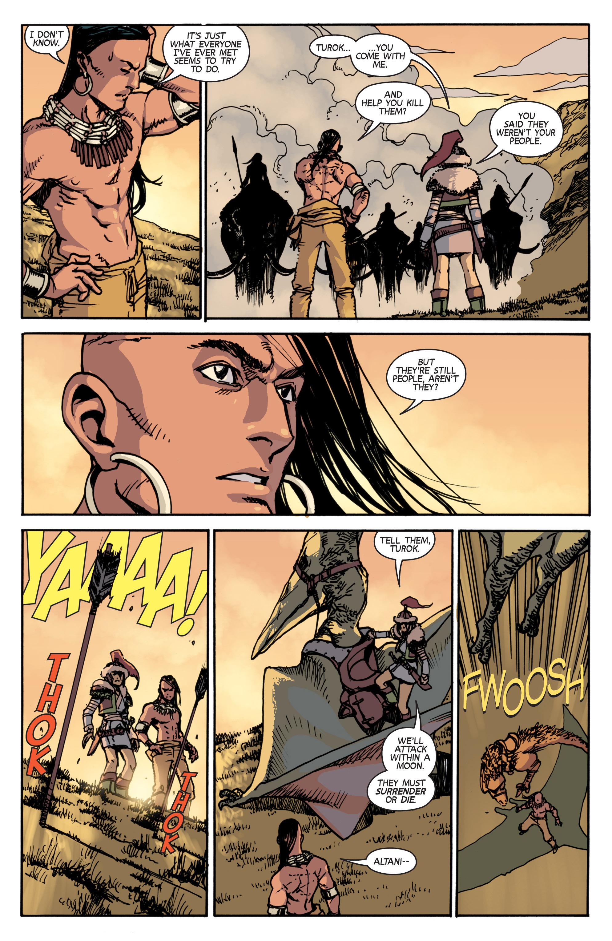 Read online Turok: Dinosaur Hunter (2014) comic -  Issue # _TPB 2 - 39