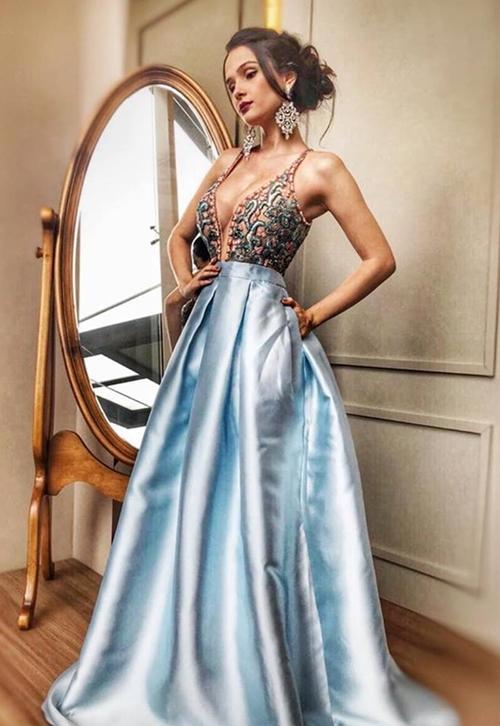vestido estilo princesa formatura