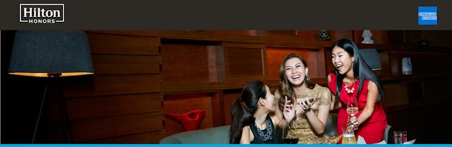 【免費獲得2年Hilton 銀卡】2019/2/28前  香港美國運通白金信用卡會員註冊可獲得  免費希爾頓Hilton銀卡會籍