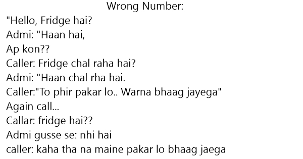 funny wrong number conversations