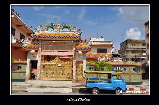 haadyai, hatyai, thailand, south thailand, songtheaw, temple, backpacking thailand, kota hatyai
