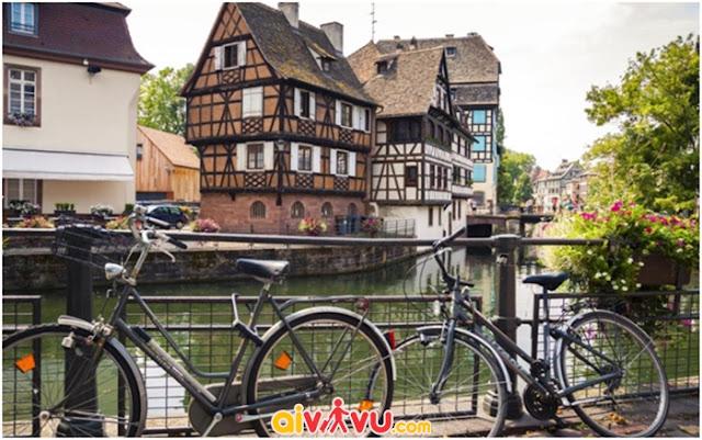 Strasbourg – ranh giới hòa hợp của Pháp và Đức