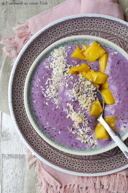 Karibische Blaubeer-Smoothie-Bowl | Rezept | Essen | Weight Watchers