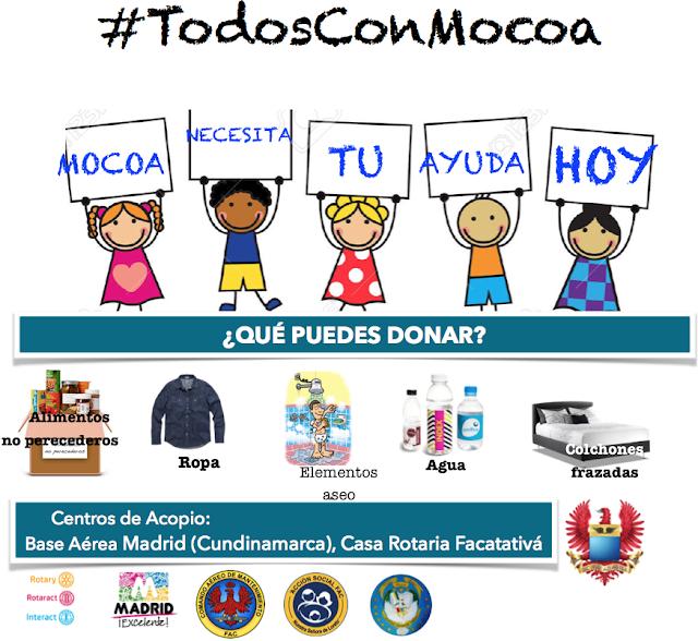 Tripulaciones del CAMAN realizan operación de ayuda humanitaria a damnificados en Mocoa