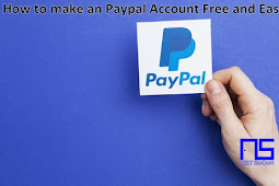 How to make an Paypal Account Free and Easy