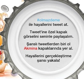 Akmina Twitter Kampanyası