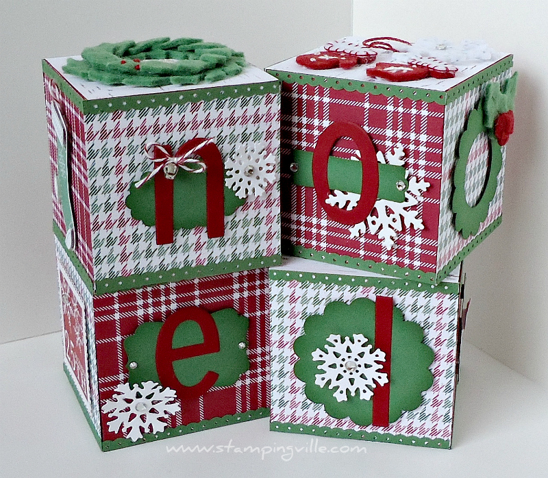 Stampingville: Holiday Crafts: Christmas Home Decor