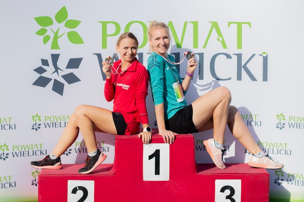 podium biegu w Wieliczce