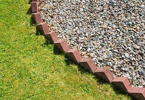 Brick Laminate Picture Brick Garden Borders