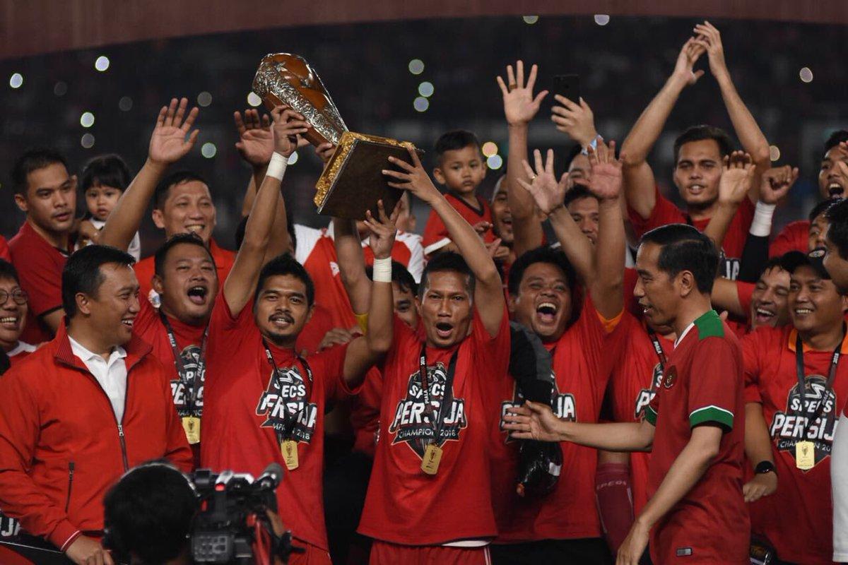 Moment Kemenangan Persija di Piala Presiden 2018
