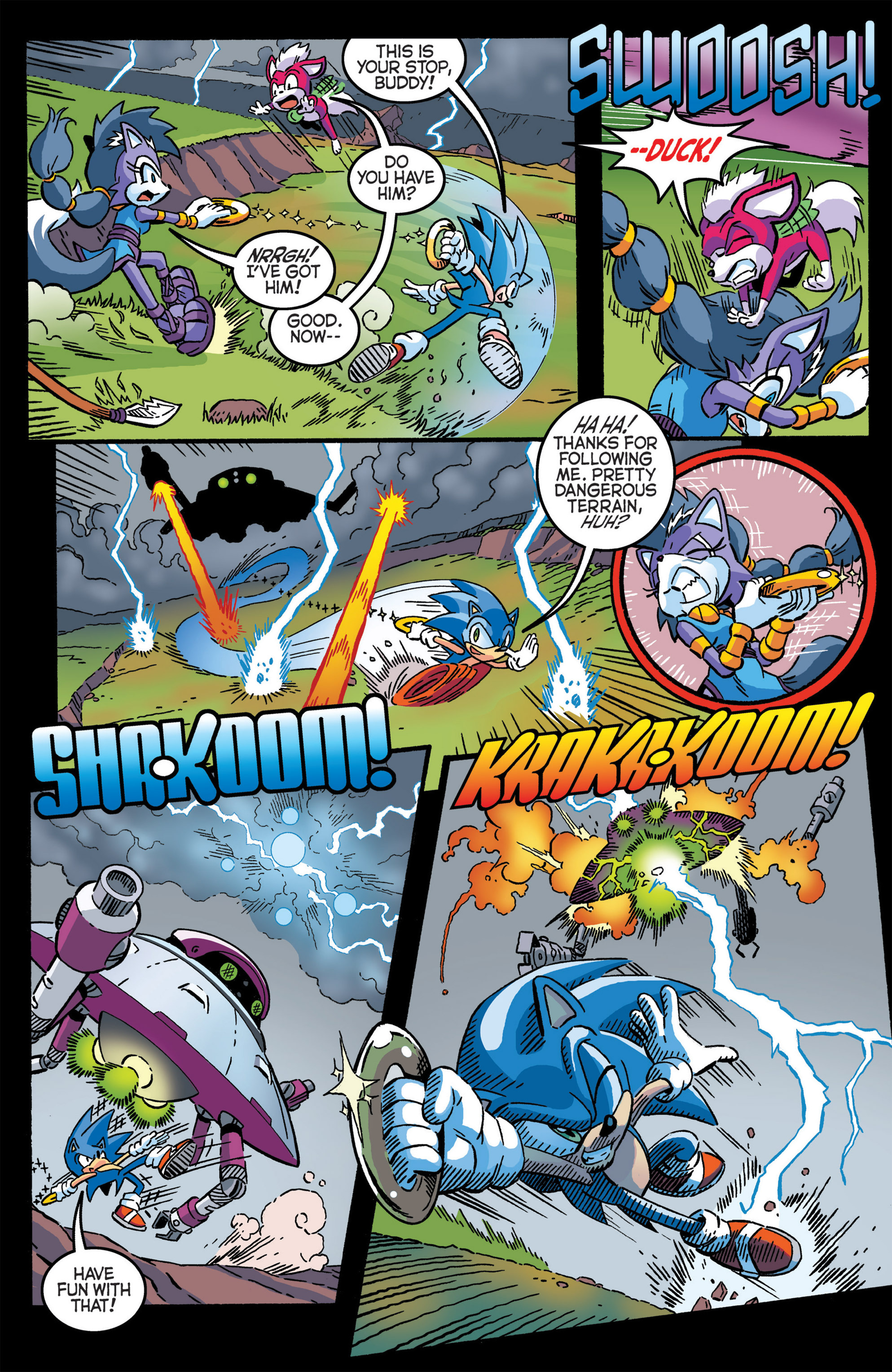 Read online Sonic The Hedgehog comic -  Issue #277 - 5