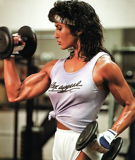 Bodybuilder Rachel McLish Biography