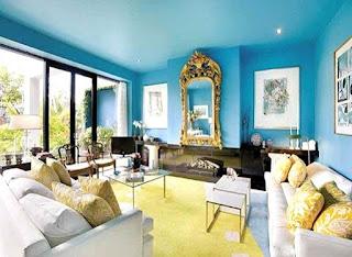 Warna Cat Plafon Rumah Minimalis Yang Bagus Terkesan Mewah