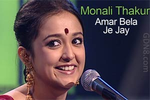 Amar Bela Je Jay - Rabindra Sangeet - Monali Thakur