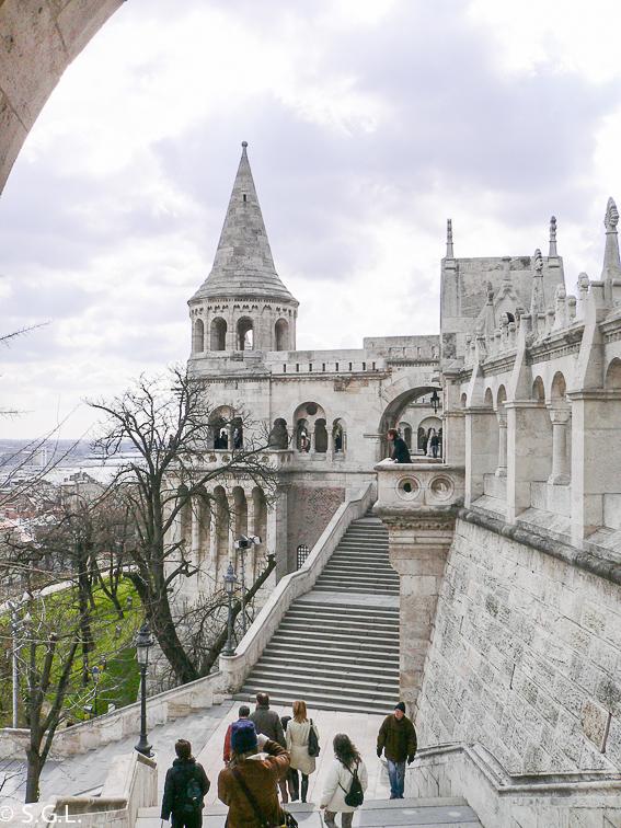 Bastion de los pescadores en Budapest