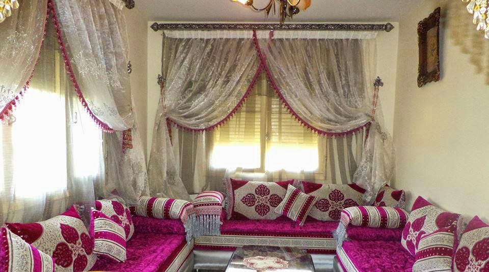rideaux salon marocain design moderne 2017