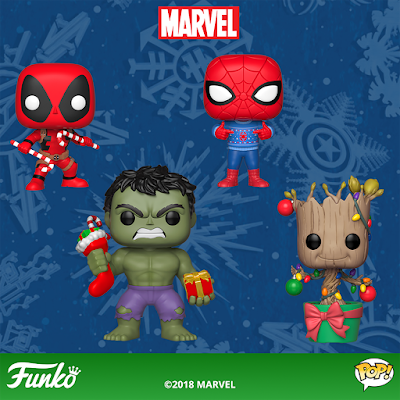 Marvel Holiday Pop! Vinyl Figures by Funko