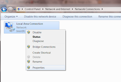 Assign IP address