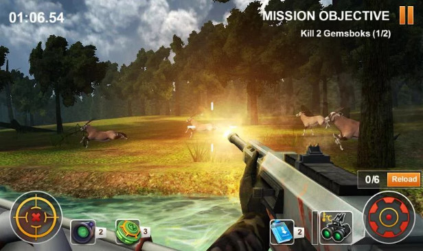 Hunting Safari 3D MOD APK V1.1 Unlimited Money For Android Download