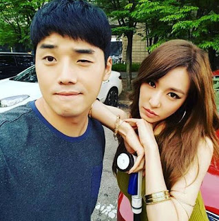 Check out Tiffany's pictures with the cast of SNL Korea