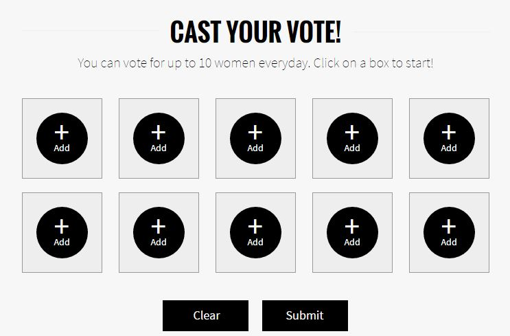 Cast your vote FHM Sexiest