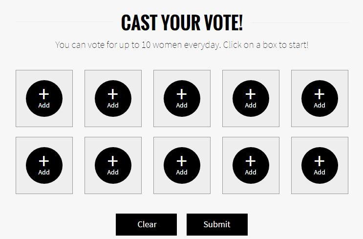 Cast your vote FHM Sexiest