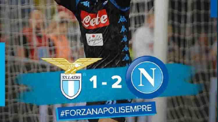 Hasil Lazio vs Napoli Skor Akhir 1-2 [ Serie A 1 2018 ]