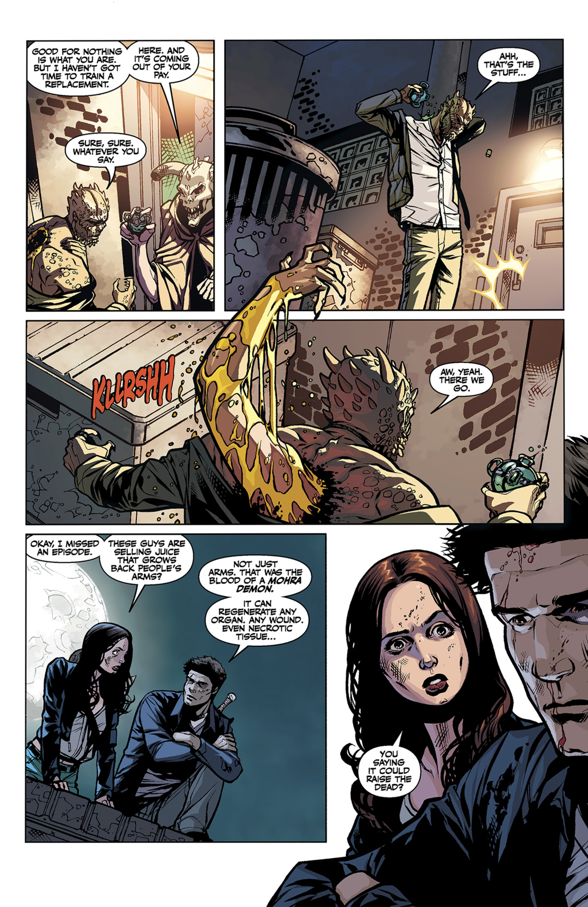 Read online Angel and Faith comic -  Issue #2 - 16