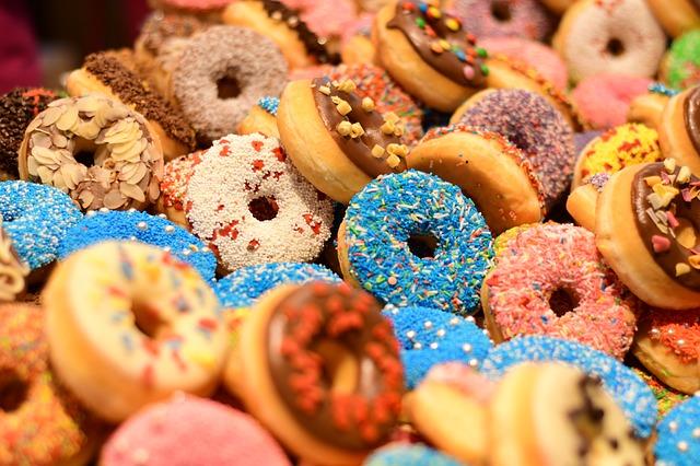 donut adalah makanan internasional