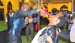 FAKE PASTORS WITH ANOINTING OIL