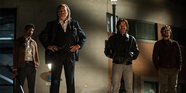 Primeras imágenes de 'Gigantes', la serie dirigida por Enrique Urbizu, para Movistar+