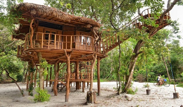 Villa Zarra, Rumah Pokok di Pulau Leebong Yang Menarik Perhatian Dalam Episod Akhir Drama Kekasih Paksa Rela