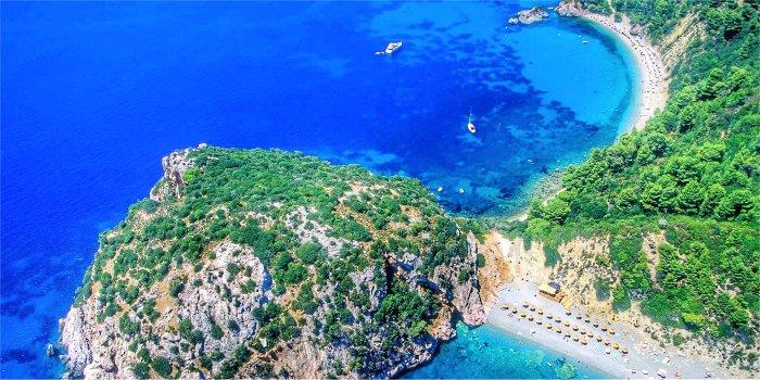 Guida dell'isola di Skopelos, Grecia