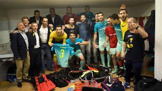 HOCKEY PATINES - Y ya van cuatro OK Ligas consecutivas para el Barcelona