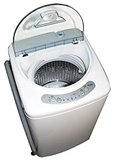 Haier HLP21N Pulsator 1-Cubic-Foot Portable Washer RV Washing Machine